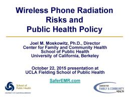 UCLA Public Health Presentation
